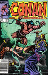 Cover for Conan the Barbarian (Marvel, 1970 series) #177 [Newsstand]