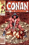 Cover for Conan the Barbarian (Marvel, 1970 series) #187 [Newsstand]