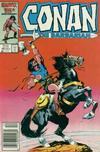 Cover for Conan the Barbarian (Marvel, 1970 series) #189 [Newsstand]