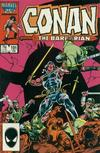 Cover for Conan the Barbarian (Marvel, 1970 series) #191 [Direct]