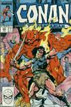 Cover for Conan the Barbarian (Marvel, 1970 series) #205 [Direct Edition]
