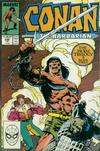 Cover for Conan the Barbarian (Marvel, 1970 series) #208 [Direct Edition]