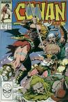 Cover for Conan the Barbarian (Marvel, 1970 series) #211 [Direct Edition]