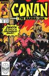 Cover for Conan the Barbarian (Marvel, 1970 series) #221 [Direct]