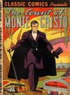 Cover for Classic Comics (Gilberton, 1941 series) #3 - The Count of Monte Cristo