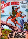 Cover Thumbnail for Classic Comics (1941 series) #4 - The Last of the Mohicans