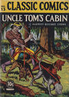 Cover for Classic Comics (Gilberton, 1941 series) #15 - Uncle Tom's Cabin