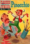 Cover Thumbnail for Classics Illustrated Junior (1953 series) #513 - Pinnochio