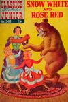 Cover for Classics Illustrated Junior (Gilberton, 1953 series) #541 - Snow White and Rose Red