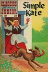 Cover for Classics Illustrated Junior (Gilberton, 1953 series) #549 - Simple Kate