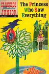 Cover for Classics Illustrated Junior (Gilberton, 1953 series) #576 - The Princess Who Saw Everything