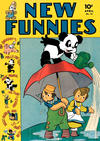 Cover for New Funnies (Dell, 1942 series) #74