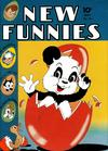 Cover for New Funnies (Dell, 1942 series) #75