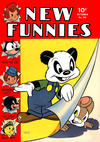Cover for New Funnies (Dell, 1942 series) #80