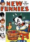 Cover for New Funnies (Dell, 1942 series) #81