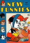 Cover for New Funnies (Dell, 1942 series) #84