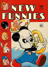 Cover for New Funnies (Dell, 1942 series) #86