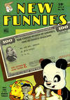 Cover for New Funnies (Dell, 1942 series) #89