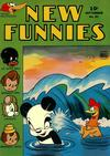 Cover for New Funnies (Dell, 1942 series) #91