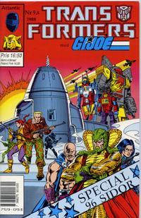 Cover Thumbnail for Transformers med G.I. Joe (Atlantic Förlags AB, 1988 series) #9,5/1988