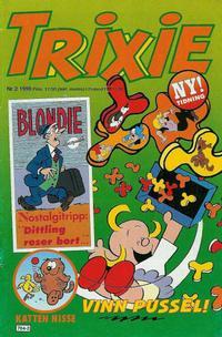 Cover Thumbnail for Trixie (Atlantic Förlags AB; Pandora Press, 1990 series) #2/1990