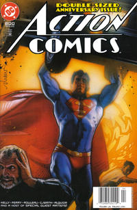 Cover Thumbnail for Action Comics (DC, 1938 series) #800 [Newsstand]