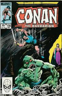 Cover Thumbnail for Conan the Barbarian (Marvel, 1970 series) #156 [Direct Edition]
