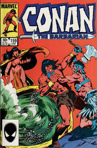Cover Thumbnail for Conan the Barbarian (Marvel, 1970 series) #159 [Direct]
