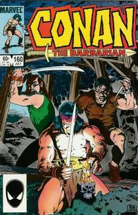 Cover Thumbnail for Conan the Barbarian (Marvel, 1970 series) #160 [Direct]