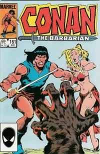 Cover Thumbnail for Conan the Barbarian (Marvel, 1970 series) #161 [Direct Edition]