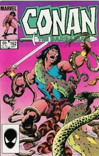 Cover Thumbnail for Conan the Barbarian (Marvel, 1970 series) #162 [Direct]