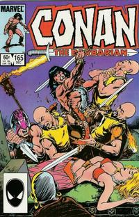 Cover Thumbnail for Conan the Barbarian (Marvel, 1970 series) #165 [Direct Edition]