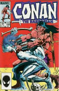 Cover Thumbnail for Conan the Barbarian (Marvel, 1970 series) #168 [Direct]