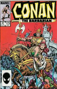 Cover for Conan the Barbarian (Marvel, 1970 series) #173 [Newsstand Edition]