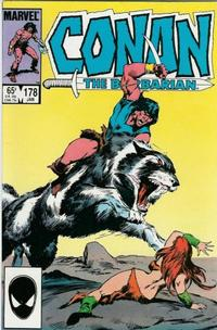 Cover Thumbnail for Conan the Barbarian (Marvel, 1970 series) #178 [Direct Edition]