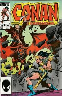 Cover Thumbnail for Conan the Barbarian (Marvel, 1970 series) #179 [Direct Edition]