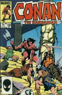 Cover Thumbnail for Conan the Barbarian (Marvel, 1970 series) #180 [Direct Edition]