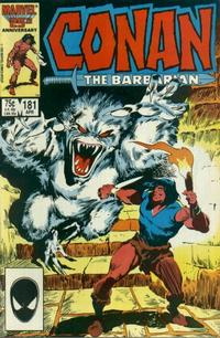Cover Thumbnail for Conan the Barbarian (Marvel, 1970 series) #181 [Direct Edition]
