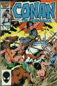 Cover for Conan the Barbarian (Marvel, 1970 series) #182 [Newsstand Edition]