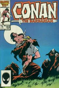Cover Thumbnail for Conan the Barbarian (Marvel, 1970 series) #183 [Direct Edition]