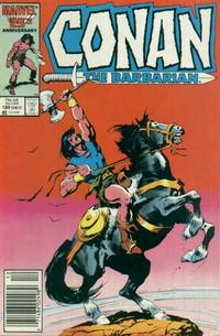Cover Thumbnail for Conan the Barbarian (Marvel, 1970 series) #189 [Newsstand Edition]