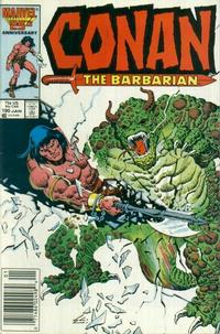 Cover Thumbnail for Conan the Barbarian (Marvel, 1970 series) #190 [Newsstand Edition]
