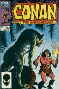 Cover Thumbnail for Conan the Barbarian (Marvel, 1970 series) #192 [Direct Edition]