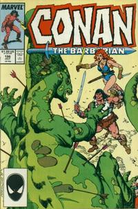 Cover Thumbnail for Conan the Barbarian (Marvel, 1970 series) #196 [Direct Edition]