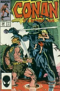 Cover Thumbnail for Conan the Barbarian (Marvel, 1970 series) #198 [Direct Edition]