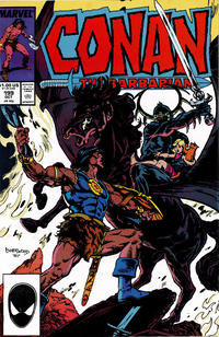 Cover Thumbnail for Conan the Barbarian (Marvel, 1970 series) #199 [Direct Edition]