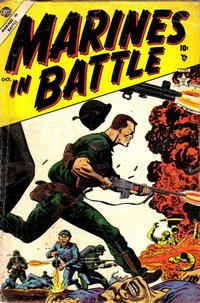 Cover Thumbnail for Marines in Battle (Marvel, 1954 series) #2