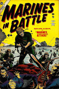 Cover Thumbnail for Marines in Battle (Marvel, 1954 series) #4