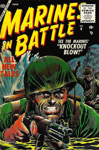 Cover Thumbnail for Marines in Battle (Marvel, 1954 series) #6