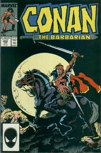 Cover Thumbnail for Conan the Barbarian (Marvel, 1970 series) #202 [Direct Edition]